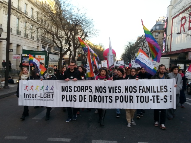 Nos corps, nos vies, nos familles : plus de droits pour toutes, Inter-LGBT [Our bodies, our lives, our families: more rights for all, Inter-LGBT]