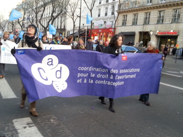 CADAC : coordination des associations pour le droit à l'avortement et à la contraception [CADAC: coordination of associations for the right to abortion and contraception]