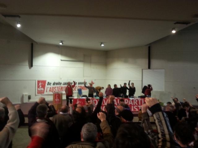 Troisième congrès du nouveau parti anticapitaliste [Third congress of the new anticapitalist party]