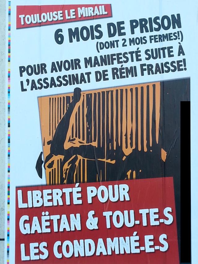 Liberté pour Gaëtan [Freedom for Gaetan]