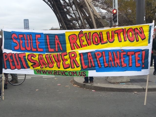 Seule la révolution peut sauver la planète [Only the revolution can save the planet]
