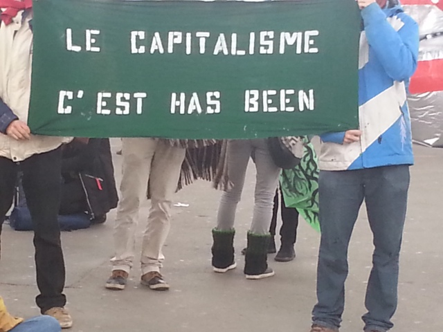 Le capitalisme, c'est has been [Capitalism is has-been]