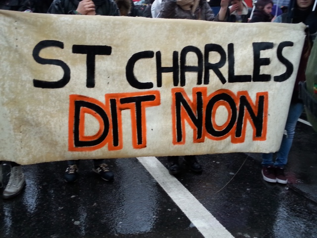 St Charles dit non [St Charles says no]