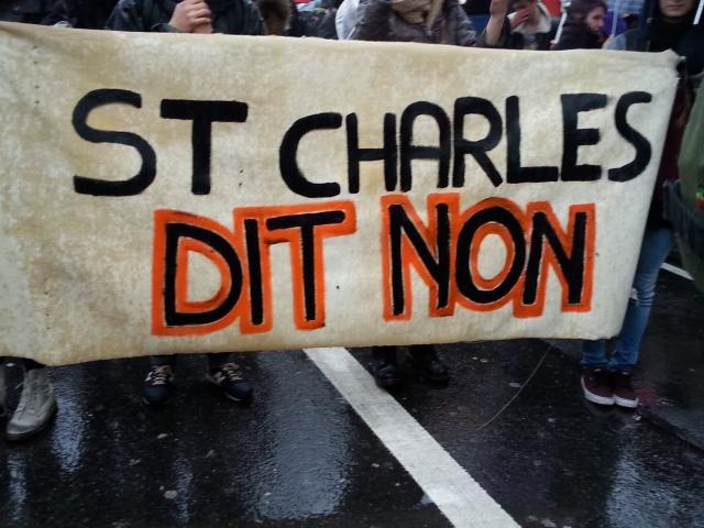 St Charles dit non [St Charles says no]