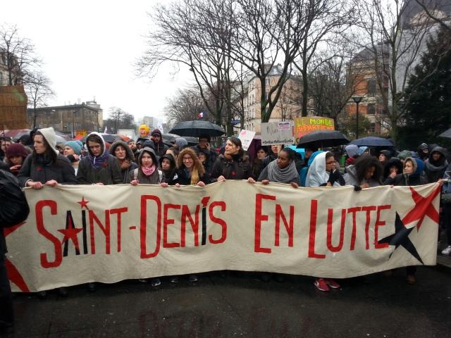Saint Denis en lutte [Saint Denis in struggle]
