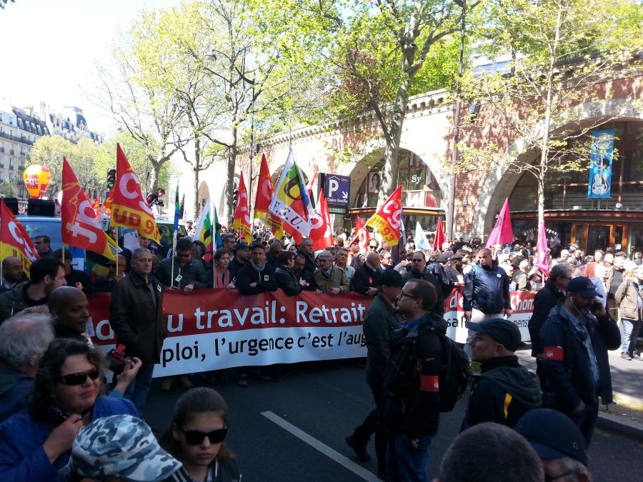 Tête de cortège [Head of march]