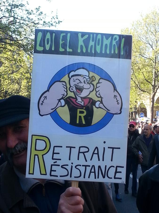 Loi El Khomri, retrait, résistance [El Khomri law, withdrawal, resistance]