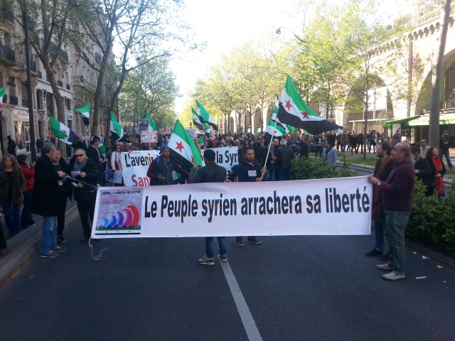 Le peuple syrien arrachera sa liberté [The Syrian people will wrest his freedom]