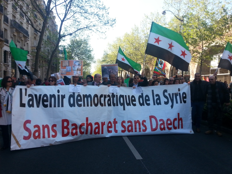 L'avenir démocratique de la Syrie sans Bachar et sans Daech [The democratic future of Syria without Bachar and without Daech]