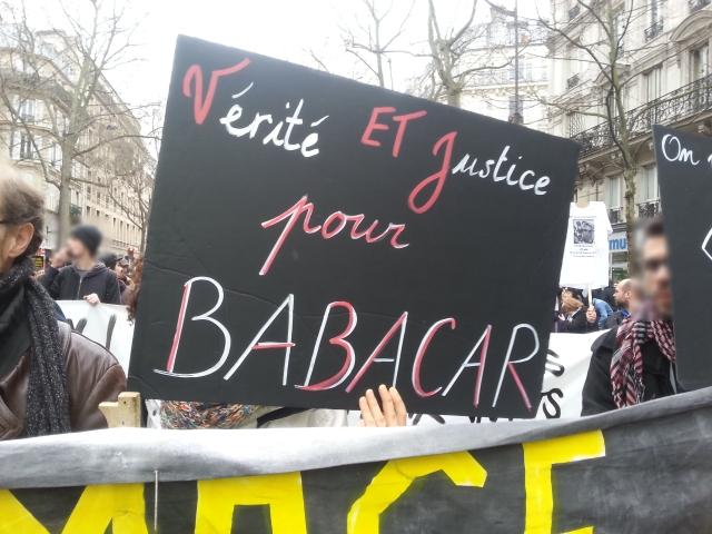 Vérité et justice pour Babacar [Truth and justice for Babacar]