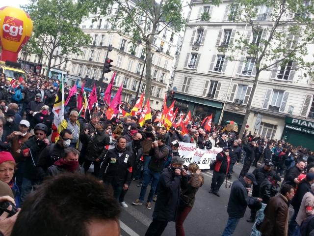 Tête de cortège [Front of the demonstration]
