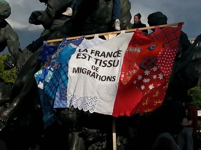 La France est tissu de migrations [France is a web of migrations]
