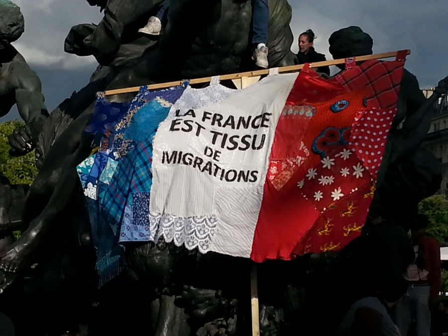 La France est tissu de migrations [France is a web of migrations]