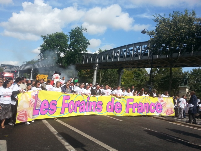 Les forains de France [The stallholders of France]