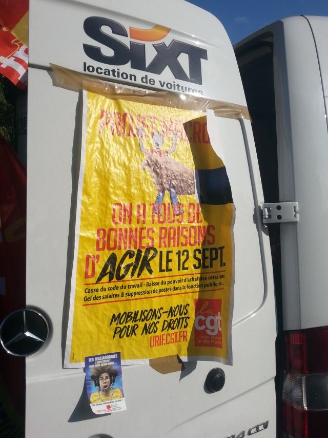 Projet Macron : on a tous de bonnes raisons d'agir, CGT Île-de-France [Macron's project: we all have some good reasons to act, CGT Paris metropolitan region]