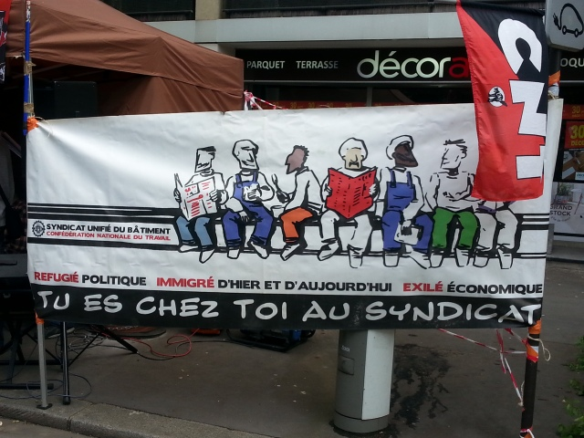 Tu es chez toi au syndicat, CNT [You're at home in the union, CNT]