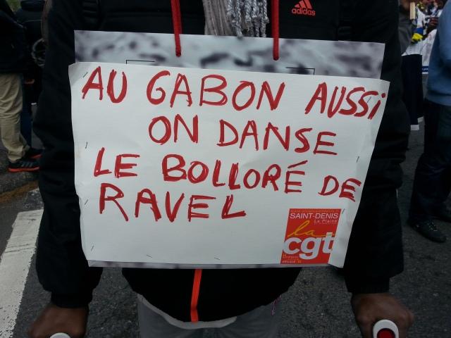 Au Gabon aussi on danse le Bolloré de Ravel [We danse Ravel's Bolloré in Gabon too]