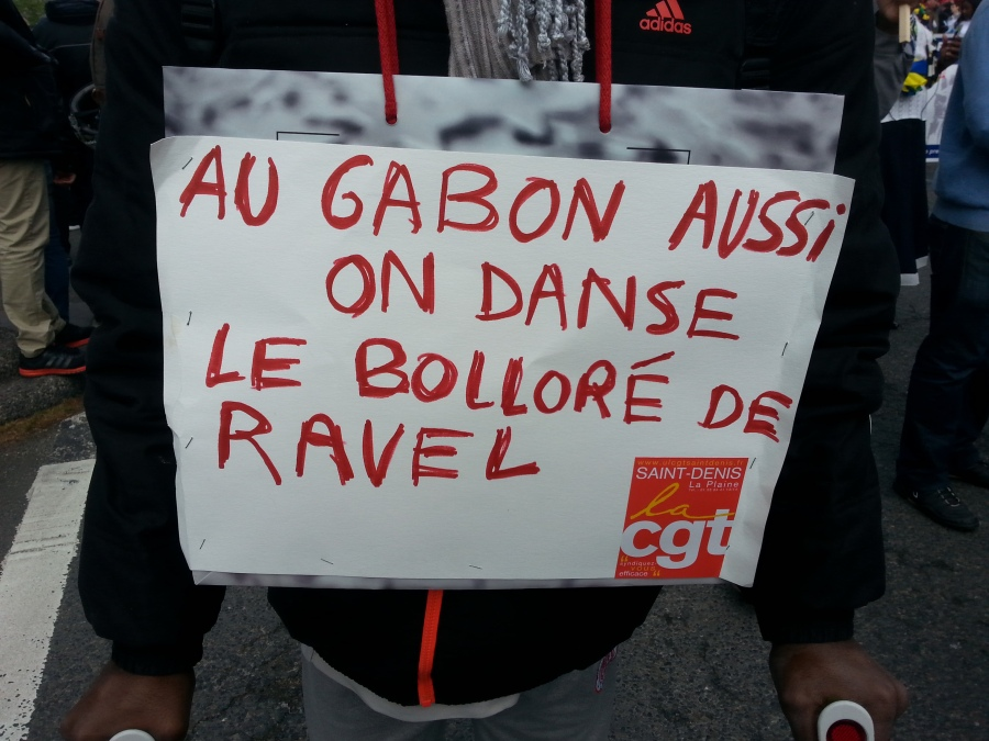 Au Gabon aussi on danse le Bolloré de Ravel [We danse Ravel's Bolloré in Gabon too]
