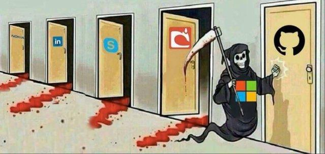 Microsoft est en train de tuer Github [Microsoft is going to kill Github]