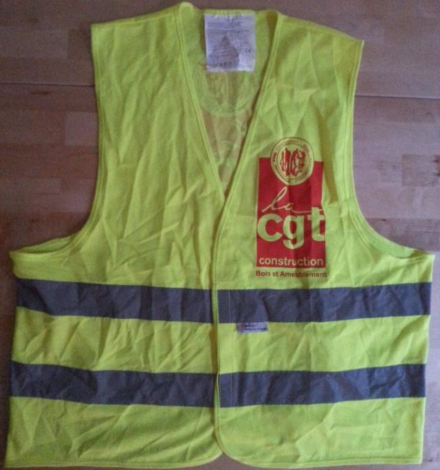 Mon gilet jaune [My yellow safety vest]