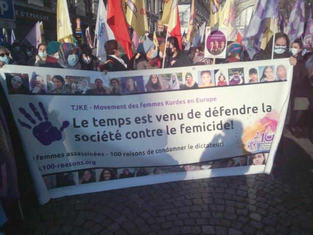 mouvement des femmes kurdes en Europe TJKE [Kurdish women's movement in Europe TJKE]