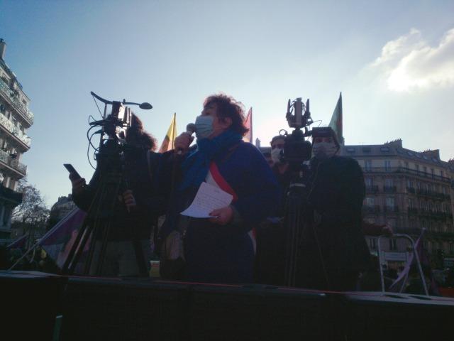 Esther Benbassa Sénatrice EELV de Paris [Esther Benbassa senator EETG of Paris]