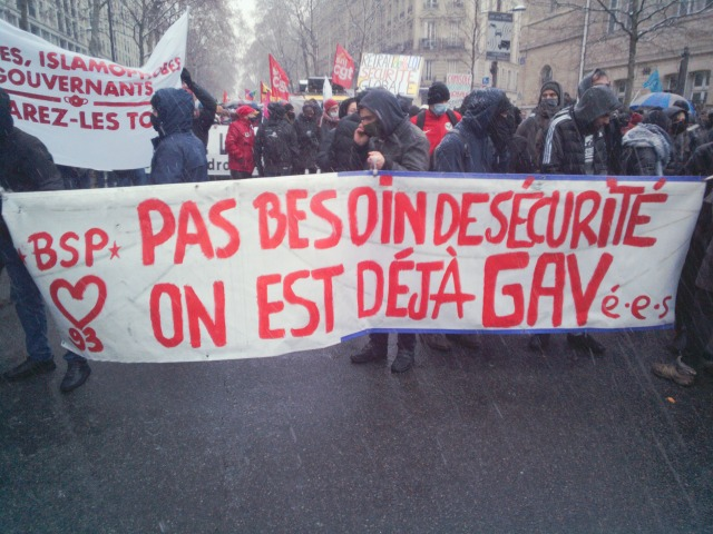 Pas besoin de sécurité, on est déjà gavés, BSP 93 [No need of security, we're already fed up, BSP 93]