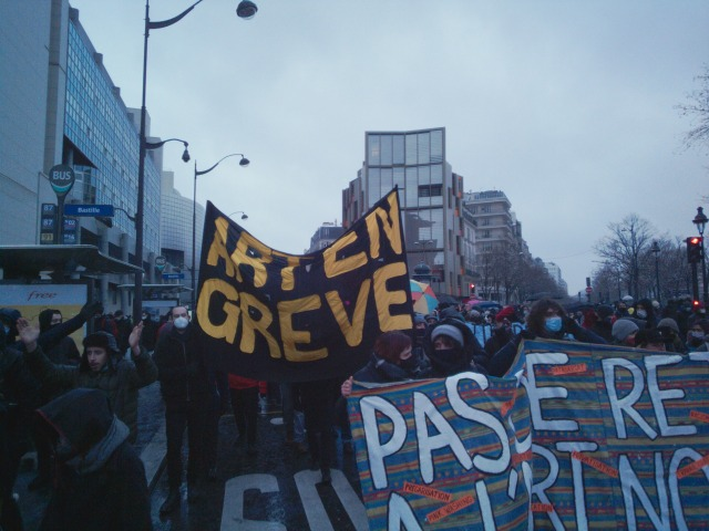 Art en grève [Art on strike]